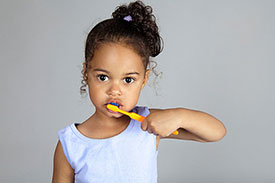 Child Brushing Teeth | Pan Dental Care in Melrose, MA