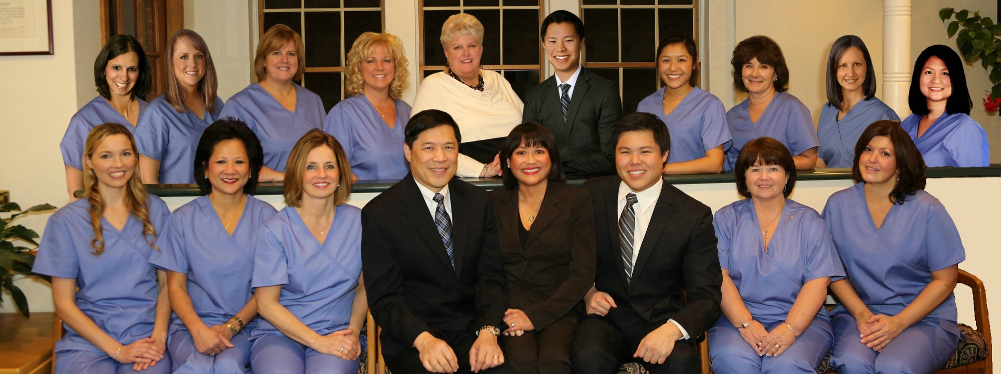 Pan Dental Care team in Melrose, MA