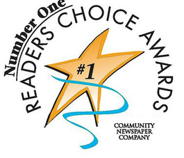#1 Dentist in Readers Choice Award
